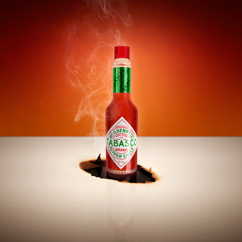 Tabasco Product Photography