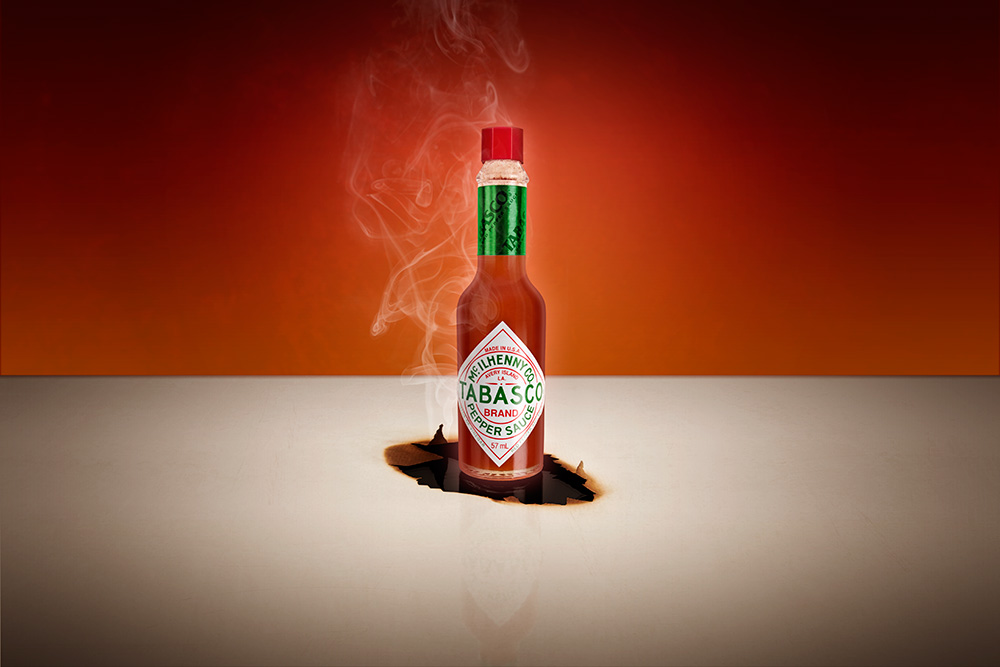 Tabasco Product Photography Photography Newbury