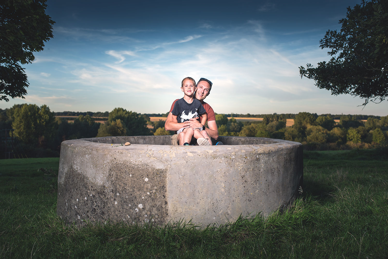 Outdoor family portrait studio photography newbury berkshire