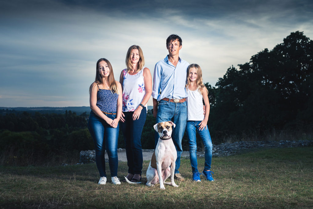 family portrait photographer newbury berkshire