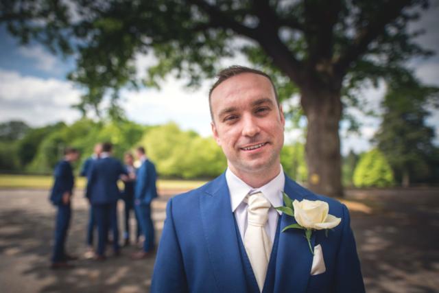 wedding photographer mill hall groom ushers best man newbury berkshire