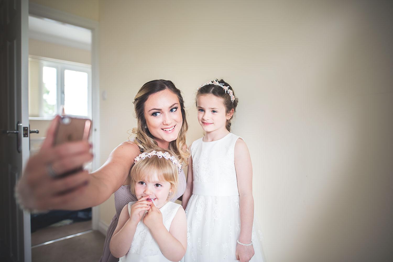 wedding photographer iphone selfie newbury berkshire