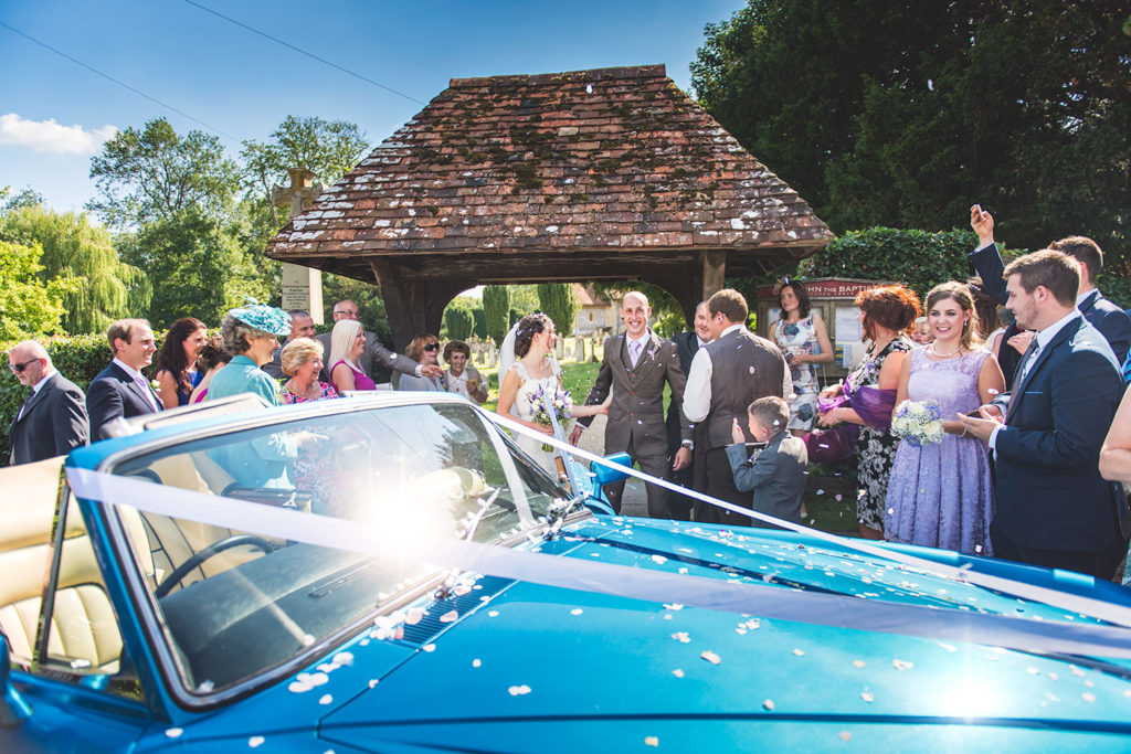 wedding photography car photographer newbury berkshire
