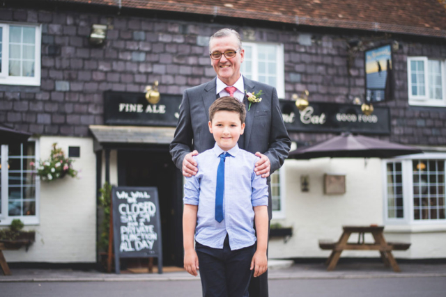 wedding photographer pub party ramp and cat woolton hill berkshire
