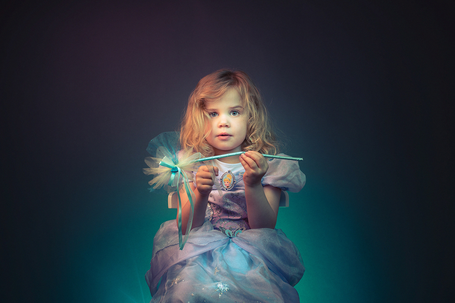 Studio family portrait photography fairy princess newbury berkshire