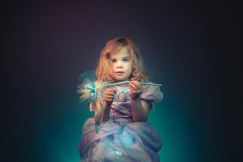 Studio family portrait photography fairy princess newbury berkshire